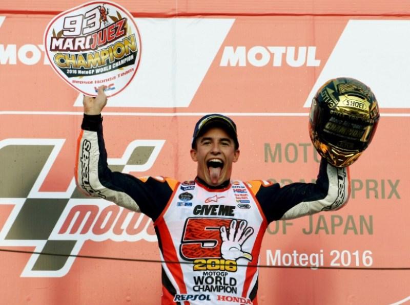 MotoGP 2016 Lebih dari Sekadar Juara Dunia bagi Marc Marquez