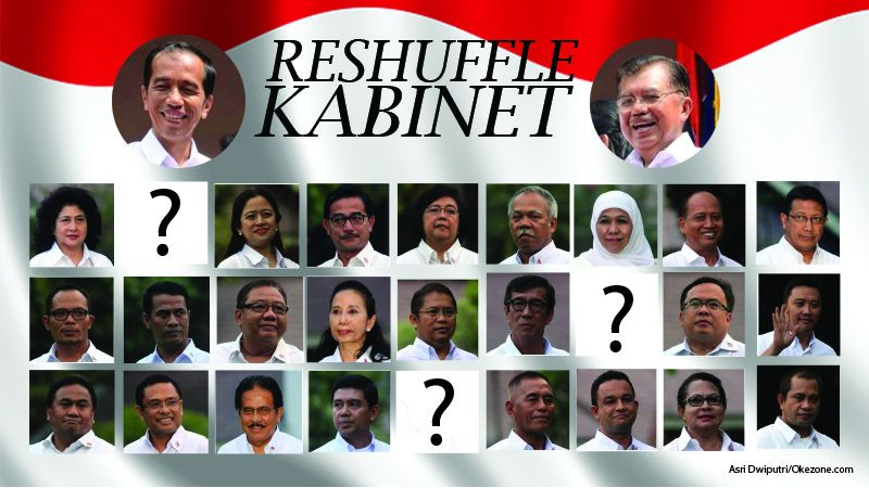 Image result for reshuffle kabinet