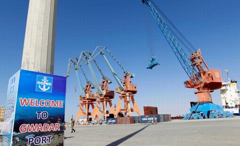 Pelabuhan Perdagangan Gwadar, Pakistan. (Foto: Reuters)