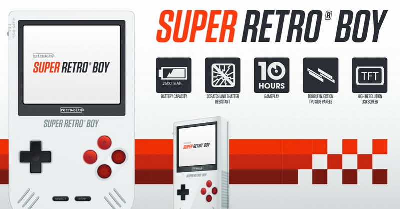 Super Retro Boy Hidupkan Era Game Boy