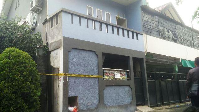 Lokasi pembunuhan mahasiswi Esa Unggul (foto: Ist)