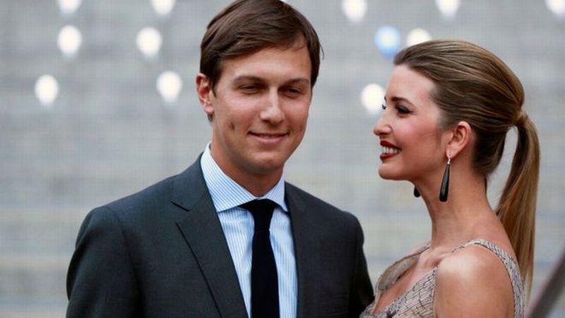 Menantu Donald Trump, Jared Kushner Beserta Istri Ivanka Trump. (Foto: Reuters)