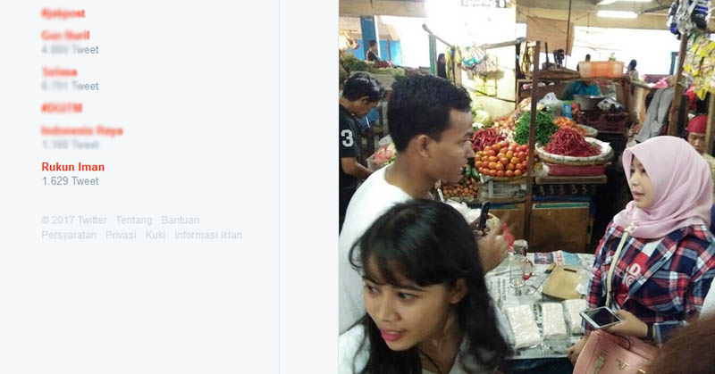 Rukun Iman Kencang Dibicarakan Netizen di Twitter