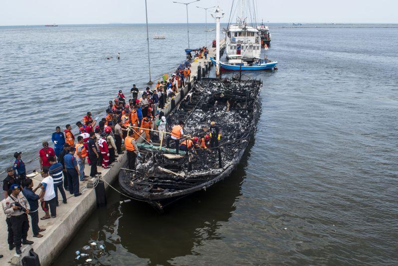 Kapal Zahro Terbakar, Kemenhub Layarkan KM Express Bahari ke Pulau Seribu