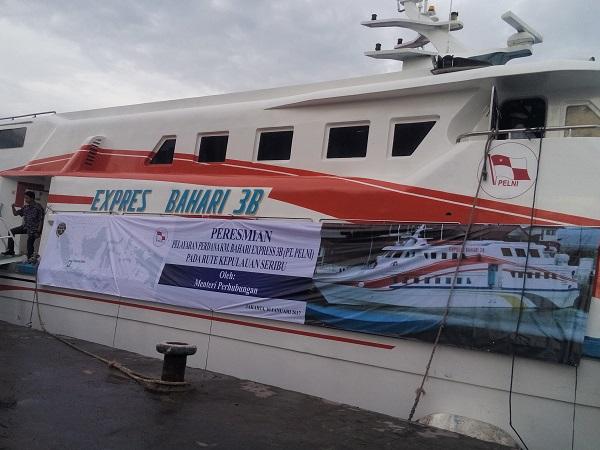 Ini Spesifikasi KM Express Bahari Pengganti Kapal Zahro yang Terbakar