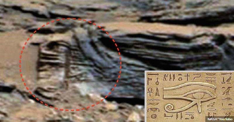 Sarkofagus dan Mata Horus Diklaim Ditemukan di Mars