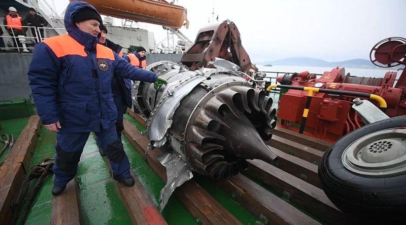 Misteri Penyebab Jatuhnya Pesawat Rusia di Laut Hitam Terkuak