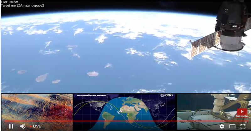 NASA Siarkan Langsung Pemandangan Bumi dari Luar Angkasa