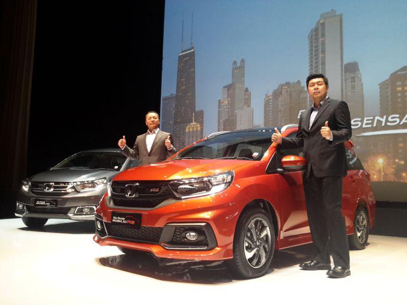 Peluncuran Honda Mobilio terbaru (foto: Pius/Okezone)