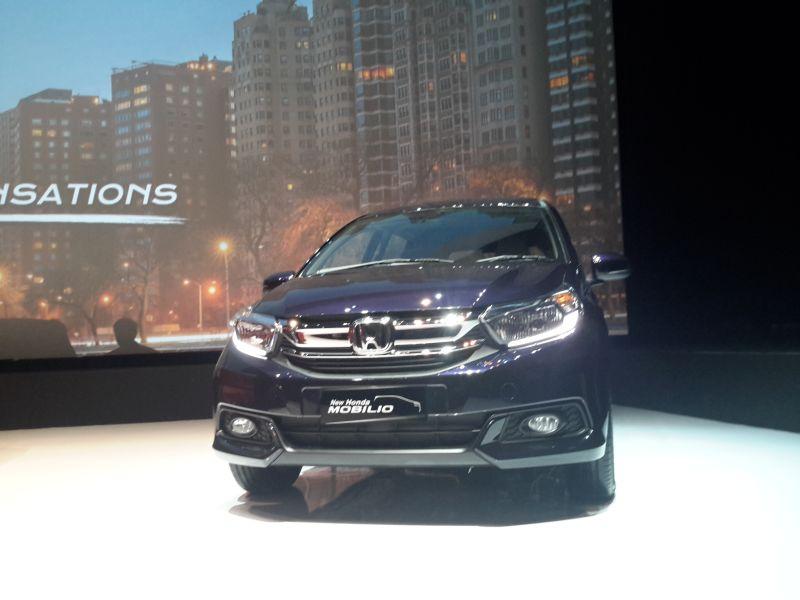 Honda Mobilio facelift (Pius/Okezone)