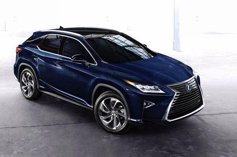 Ilustrasi model Lexus RX (foto:Autocarindia)