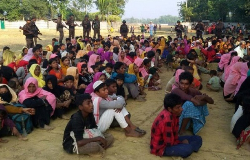 Ilustrasi. Pengungsi Rohingya di Bangladesh. (Foto: AFP)