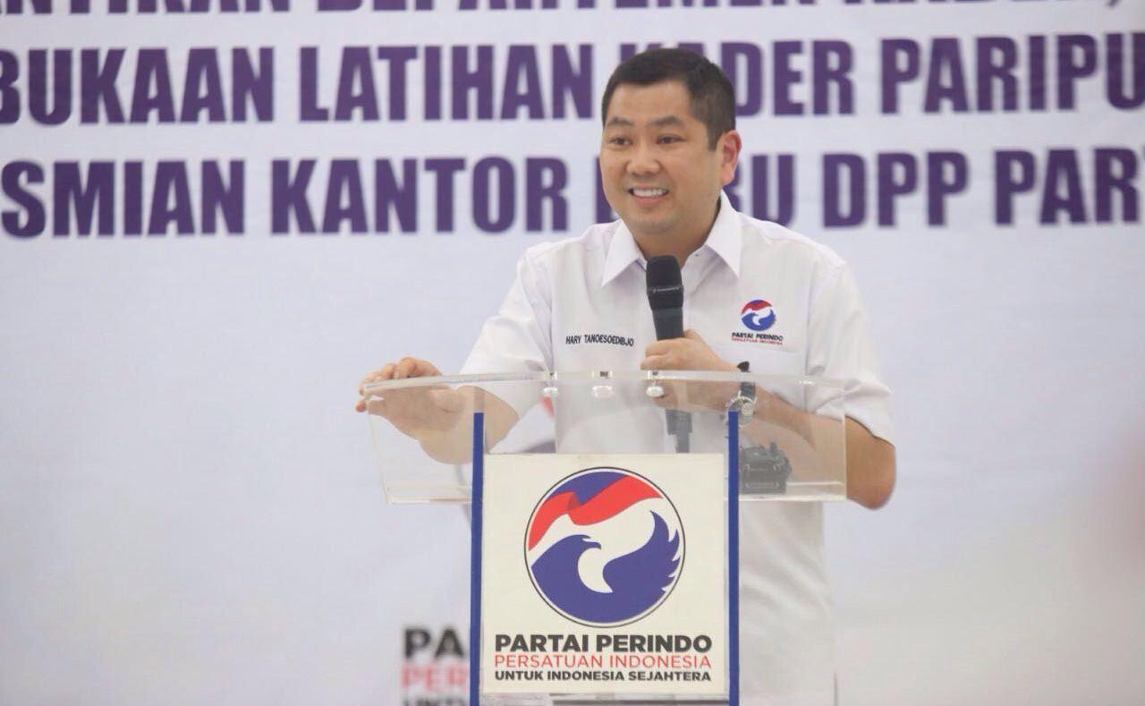 Ketua Umum Partai Perindo Hary Tanoesoedibjo (Foto: Okezone)