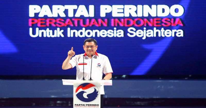 Ketum Perindo Hary Tanoesoedibjo (Foto: Okezone)