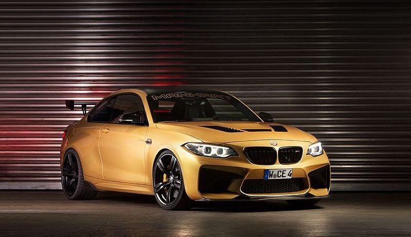 BMW M2 Manhart (Carscoops)