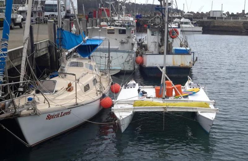 Kapal pesiar yang membawa Langdon dan putrinya. (Foto: Dianne Gray/Reuters)