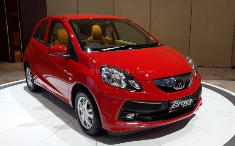 HPM belum tertarik bikin MPV LCG, dan hanya menawarkan model hatchback Brio Satya (Foto: dok.Okezone)