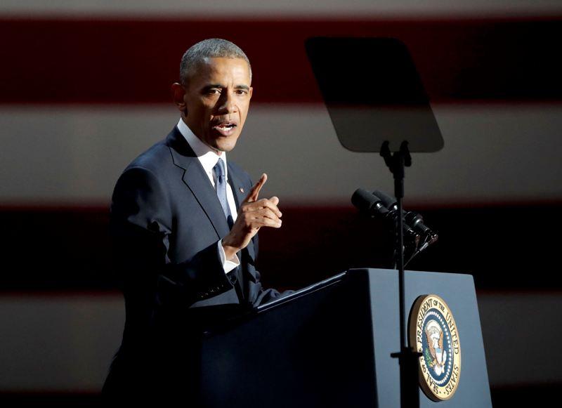 Presiden AS Barack Obama dijadwalkan mengadakan konferensi pers terakhir pada Rabu 18 Januari 2017 (Foto: John Gress/Reuters)