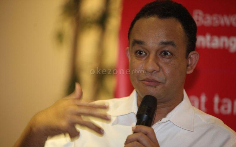 Calon Gubernur DKI Jakarta, Anies Baswedan (foto: Okezone)