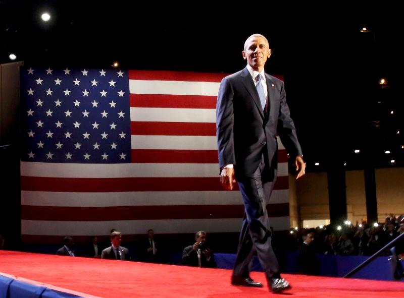 Presiden ke-44 AS Barack Hussein Obama (Foto: Jonathan Ernst/Reuters)