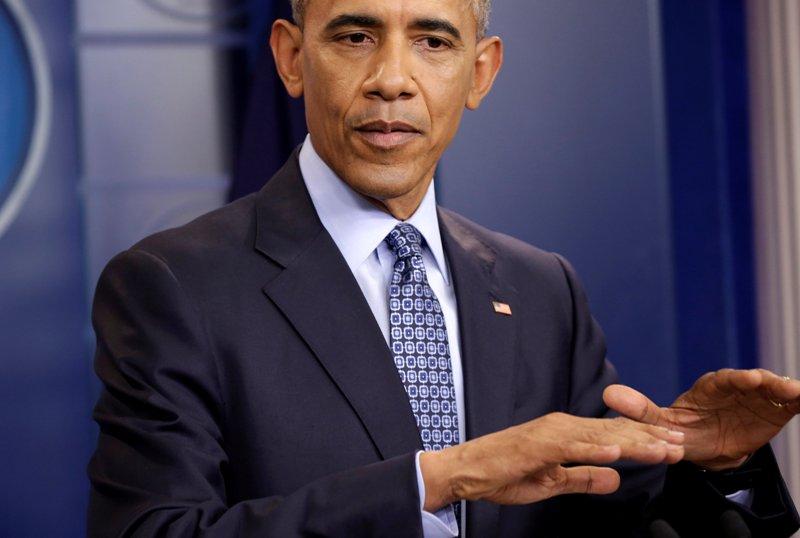 Presiden AS Barack Obama mengingatkan Donald Trump akan pentingnya two-state solutin (Foto: Reuters)