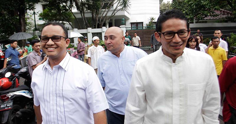 Survei Polmark Indonesia: Anies-Sandi Unggul dengan 25,3%