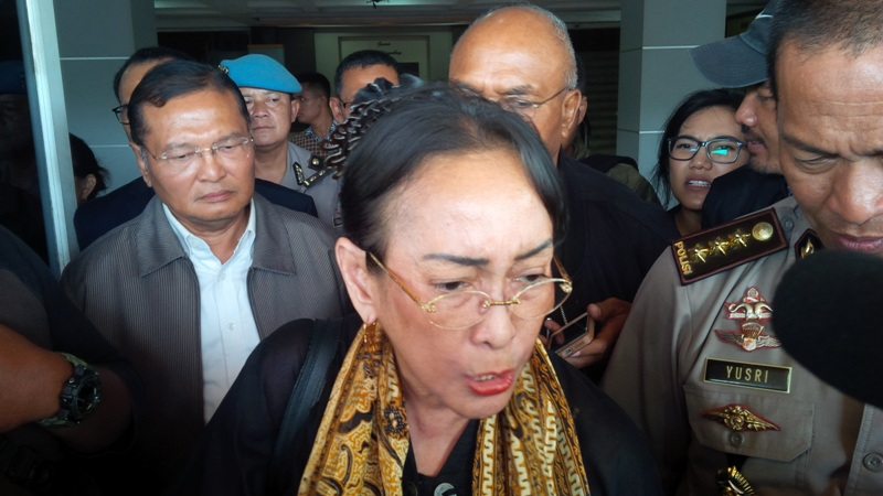 Sukmawati Soekarnoputri Hadiri Aksi Damai di Bandung