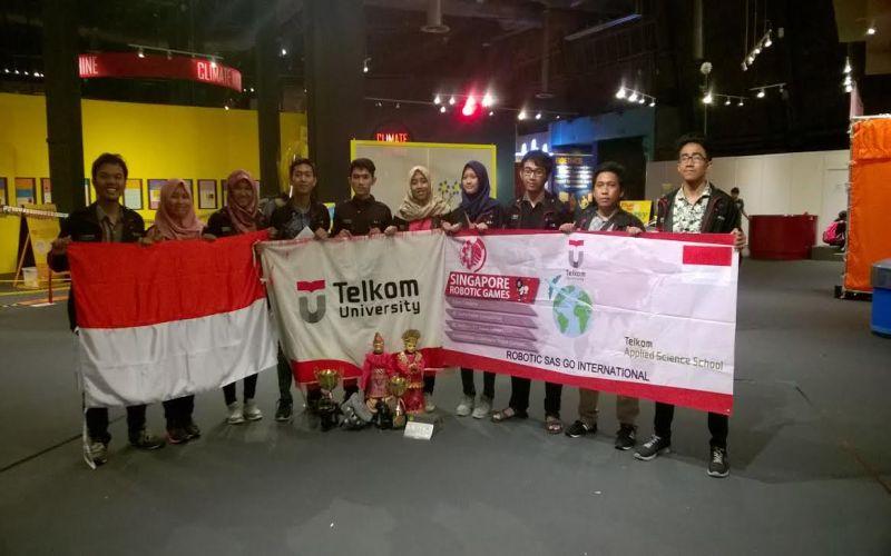 Mahasiswa Indonesia Juarai Kontes Robot Internasional di Singapura