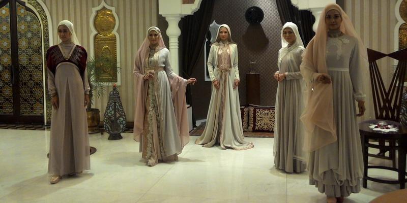 Tren Fashion 2017 Busana Hijab Syar 39 I Warna Pastel Paling