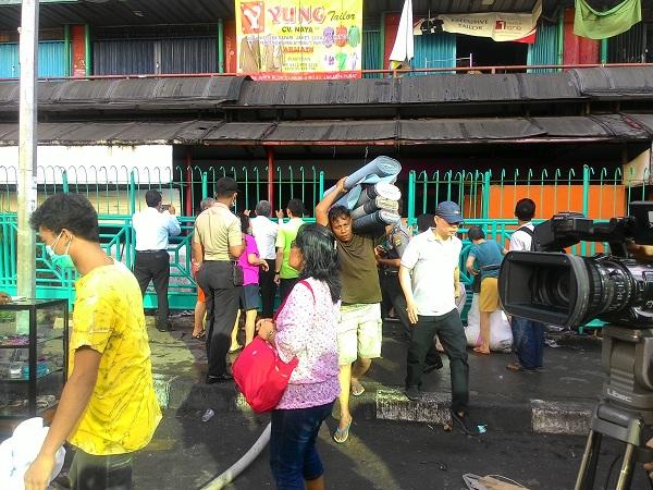 Pedagang Pasar Senen Korban Kebakaran Khawatir Sewa Kios Lebih Mahal