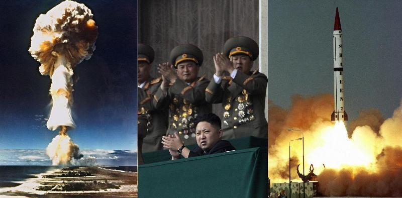 Ilustrasi. Ledakan senjata nuklir dunia. (Foto: AFP/Getty Images/STR)