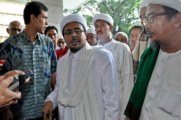 Polda Jabar Periksa 3 Saksi, Status Habib Rizieq Masih Saksi