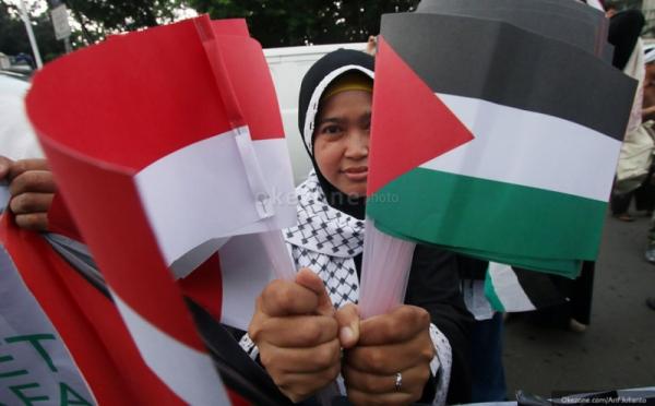 Palestina Larang Benderanya Dibawa Demo, Ini Respons Menag