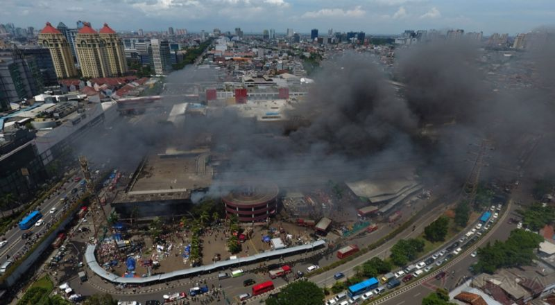 Pasca-Kebakaran, Pengelola Pasar Senen Bakal Terima Duit Asuransi Rp116,9 Miliar