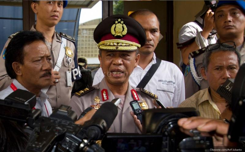 Kapolda Jawa Barat Irjen Anton Charliyan (Arif/Okezone)