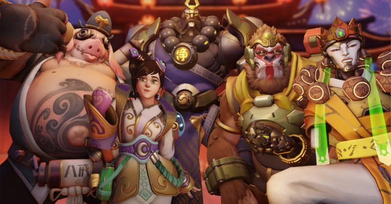 Game Overwatch Rayakan Tahun Baru Imlek