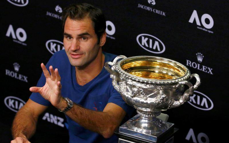Juara di Australia Open 2017, Federer: Ini Jadi Motivasi Saya di Prancis Open