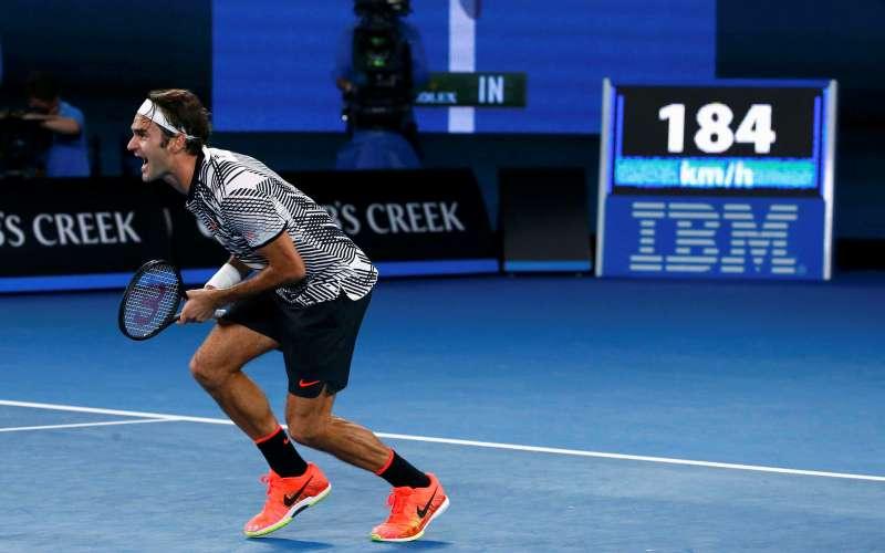 Meski Jadi Juara Australia Open 2017, Federer Akui Sempat Kesakitan saat Bertanding