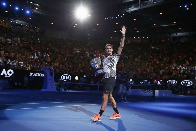Juara Australia Open 2017, Peringkat Roger Federer Naik Tujuh Posisi!