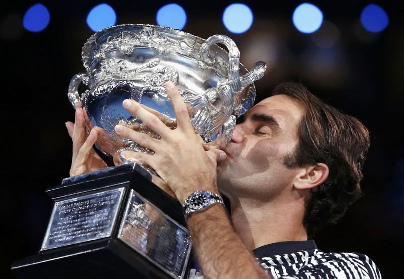 Ini Perincian 18 Gelar Grand Slam Milik Roger Federer