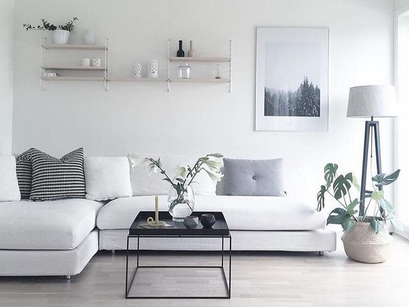 Ingin Punya Living Room Minimalis? Hindari Pemakaian Lampu ...