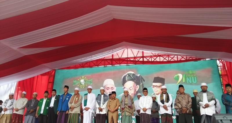 Ulama Banten (Foto: Iqbal/Okezone)