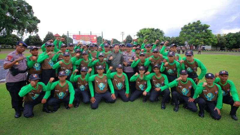 61 Park Ranger Siap Jaga Taman di Bogor 24 Jam