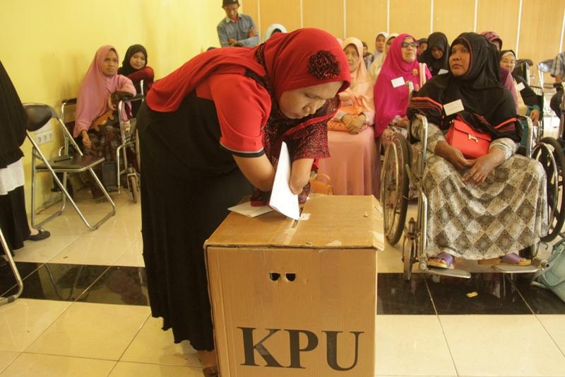 Bahas RUU Pemilu, Pansus Akan Undang Penyandang Disabilitas