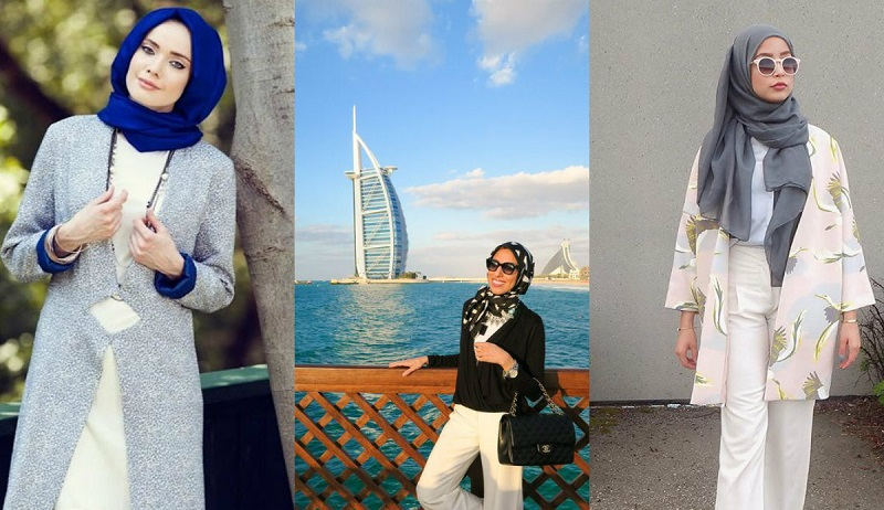 Mix And Match Kemeja Putih Agar Stylish Ala Hijab Selebgram