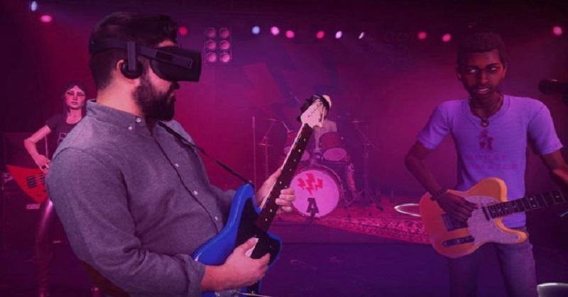 'Rock Band' Kini Dapat Dimainkan dengan Perangkat VR