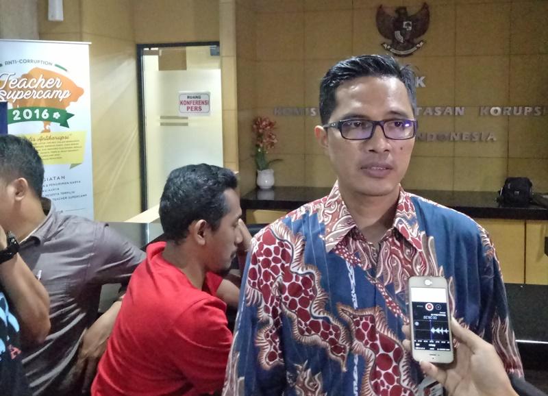 Juru Bicara KPK Febri Diansyah (Foto: Putera Negara/Okezone)