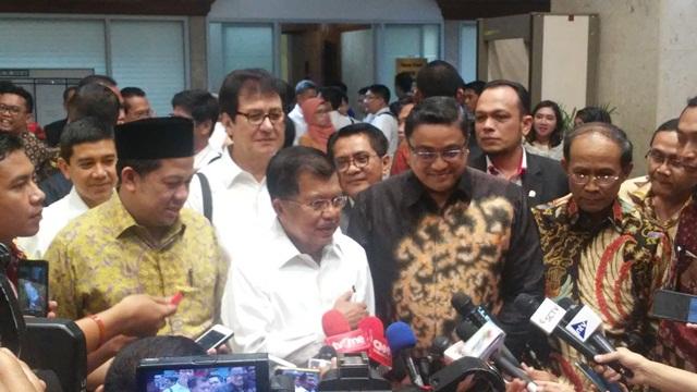 SBY Kritik Pemerintah, JK: Partai di Luar Pemerintah Ya Begitu