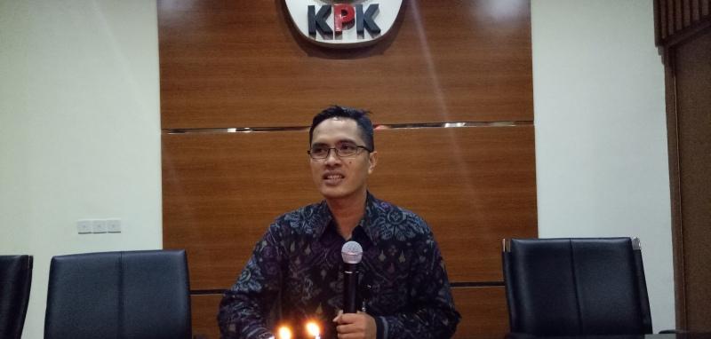 Jubir KPK Febri Diansyah (Foto: Putera/Okezone)