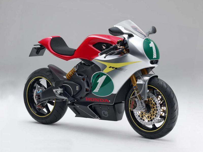 Ilustrasi sportbike bertenaga listrik Honda Pukka (Foto: Morebikes)
